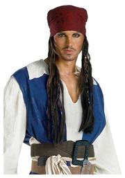 Пиратская бандана с косами