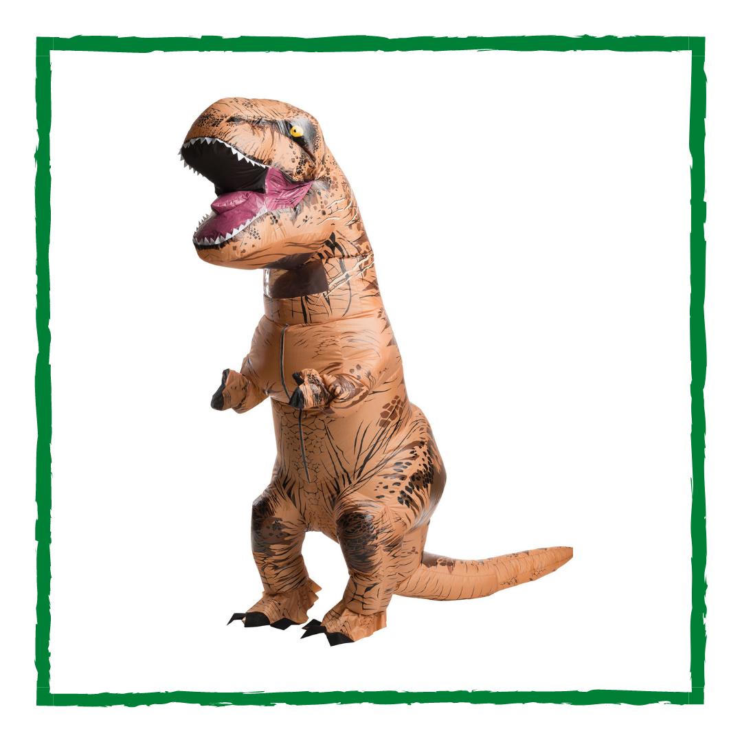 Надувной динозавр Тираннозавр (T-rex)